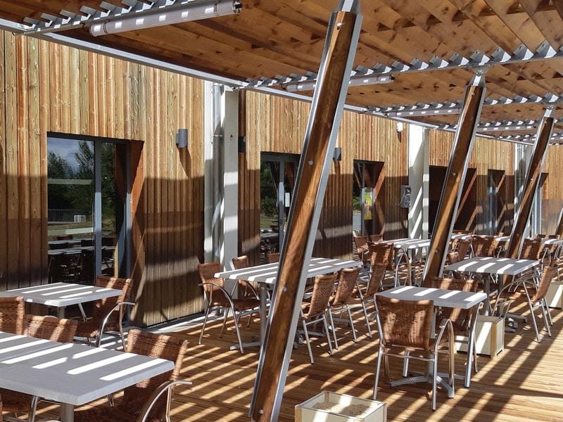 Terrasse restaurant Le Bistrot Cap Découverte