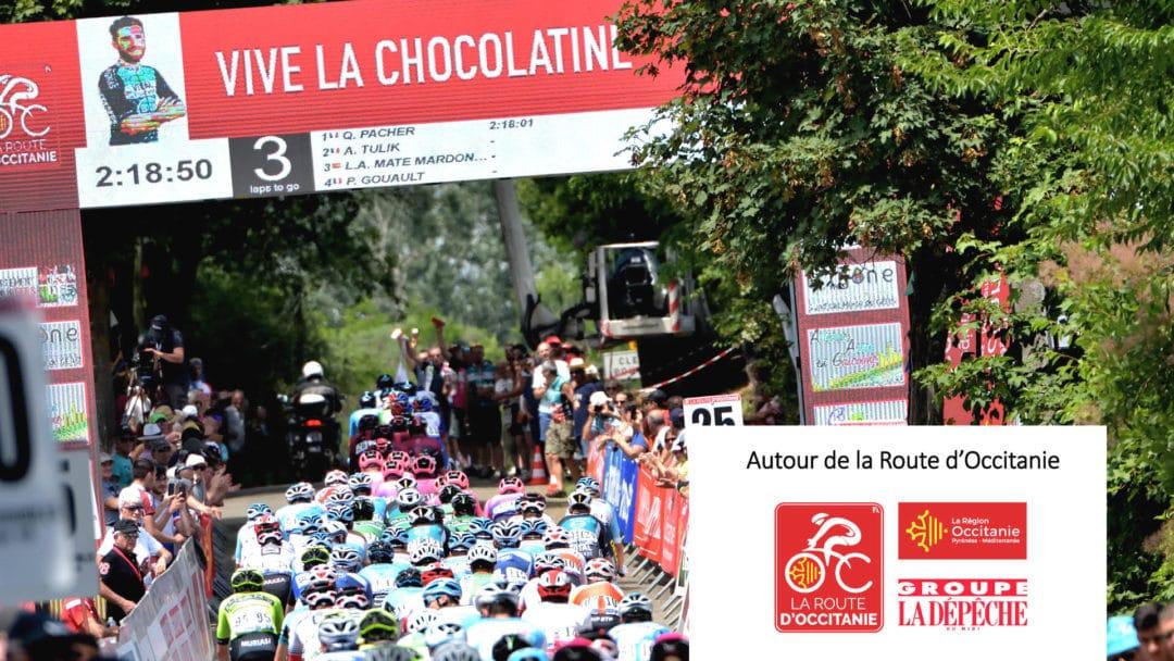 Arrivée de la Route d'Occitanie