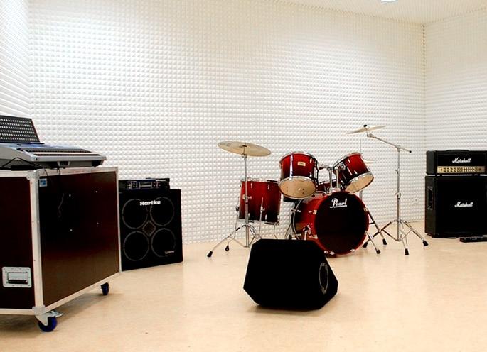 studios de répétition de Cap'Découverte