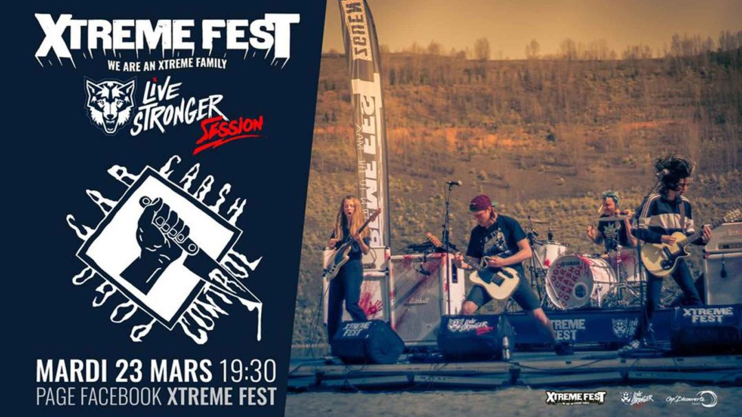 Pogo Car Crash Control : Xtreme Fest – Live Stronger Session